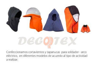 CORTAVIENTOS Y TAPANUCAS - DRILL-IGNIFUGO-DENIM