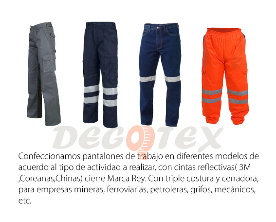Pantalones Drill Denim Termico